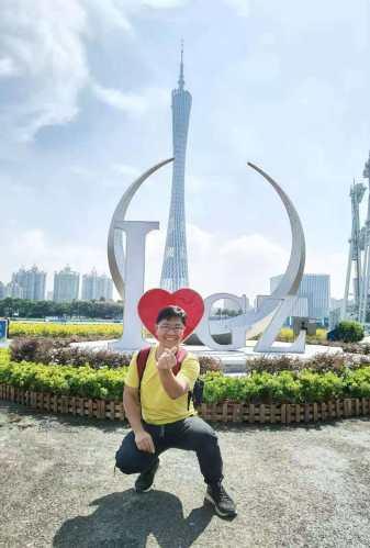 Alexandre Wong, aluno